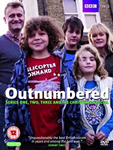 Outnumbered - Series 1-3 Box Set (Plus 2009 Christmas Special) [DVD]
