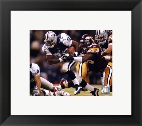 Emmitt Smith - '02 Action Framed Photo, Size 14.75 X 16.75 at Amazon.com