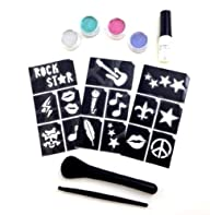 Glimmer Body Art, LLC – Glam Rock Glitter Tattoo Kit