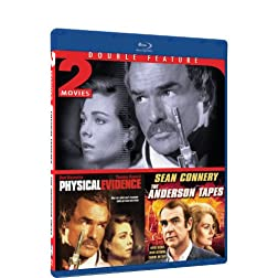 Physical Evidence &amp; The Anderson Tapes - BD Double Feature [Blu-ray]