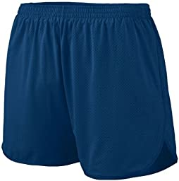 Augusta Sportswear Big Boy\'s Covered Elastic Waistband Short, Navy, Large
