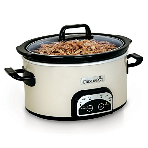 Crock-Pot® Smart-Pot® 4-Quart Digital Slow Cooker, White, SCCPVP400 (Crock Pot Smart Pot Digital compare prices)