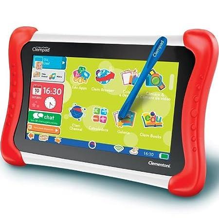 """Clementoni - 67105 - Tablette Enfant 7"""" Ma Première Clempad"""