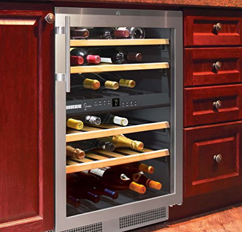 24 Bottle Wine Refrigerator front-110142