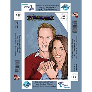 The Royals: PRINCE WILLIAM AND KATE MIDDLETON - Puzzle