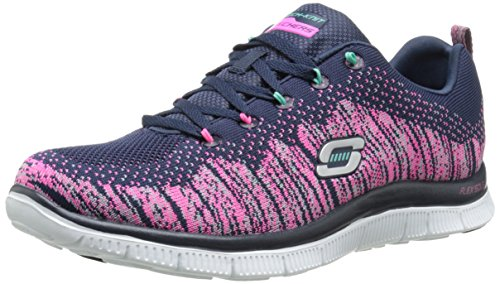 Skechers  Flex Appeal Talent Flair,  Scarpe sportive indoor donna Multicolore Multicolore (Nvmt) 38