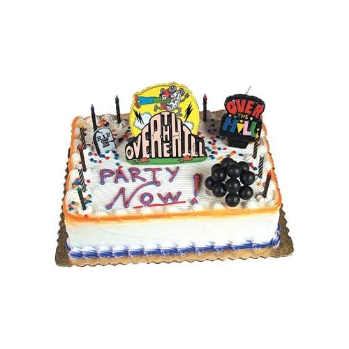 Cake Decorating Kit With Book : Over the Hill Cake Decorating Kit / 1 Set