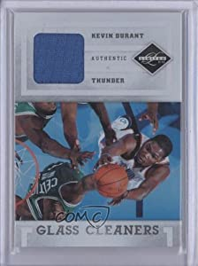 Kevin Durant #93/99 Oklahoma City Thunder (Basketball Card) 2011-12 Limited Glass Cleaners Materials #3