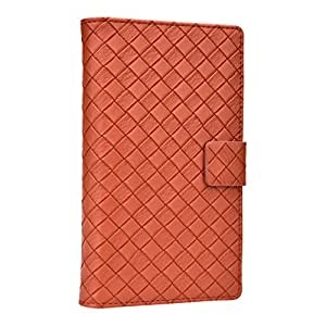 Jo Jo Cover Bali Series Leather Flip Case For Lava Iris 404E Brown