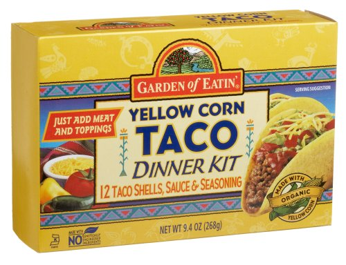Garden of Eatin'® Yellow Corn Taco Dinner Kit, 12-C ount Shells, 9.4-Ounce Boxes (Pack of 6)