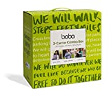 Boba Carrier 3 Combo Box - Pack de 3 portabebés, incluye Boba Wrap + Boba 4G + Boba Air