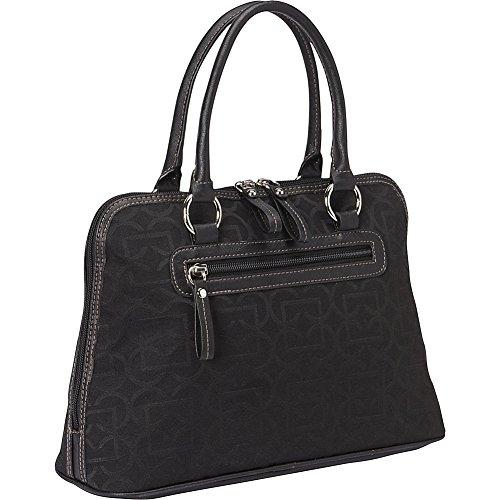 aurielle-carryland-geo-signature-dome-satchel-black