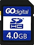 GoDigital 4GB class 4 SDHC memory card for KitVision 7 inch Digital Photo Frame