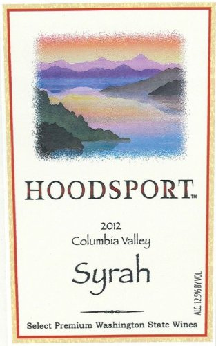 2012 Hoodsport Shiraz / Syrah 750 Ml