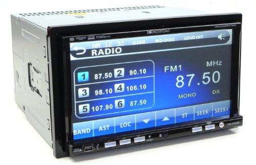 Soundstream Vir7355Nrbt 7-Inch Wide Double Din Monitor (Black)