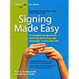Signing Made Easy (A Complete Program for Learning Sign Language.  Includes Sentence Drills and Exercises for Increased Comprehension and Signing Skill) ~ Rod R. Butterworth