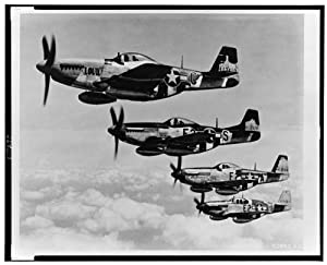 Photo: P-51 Mustang-375th Fighter Squadron-361st Fighter Group