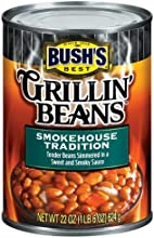 Bush39s Best Grillin39 Beans Smokehouse Tradition 22oz Can Pack of 12