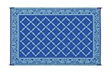 Reversible Mats 116093 Blue/Light Green 6'x9' RV Garden Mat