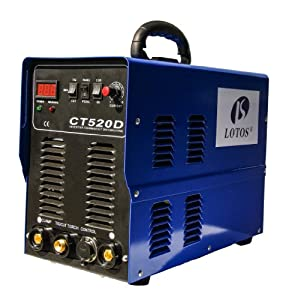 Ct520d Lotos 50a Plasma Cutter 200a Tigstick Arc Welder 110220vac All-in-one With Stick Aluminum Welding Feature from Lotos