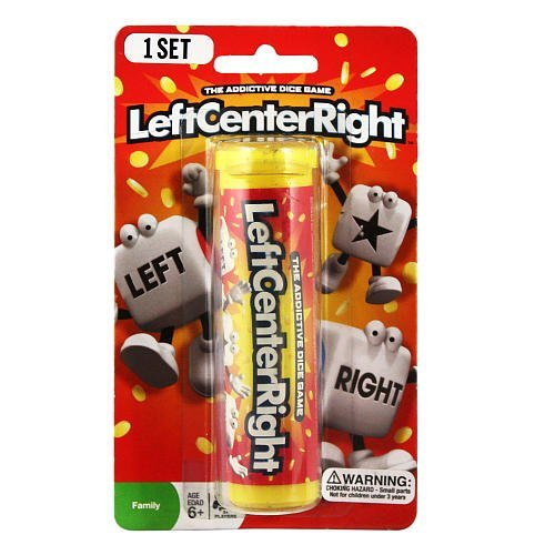 Left Center Right Dice Game - Styles Vary Tube/Tin - 1