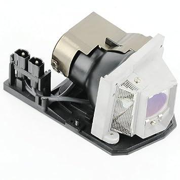 haiwo NP10LP/60002407de haute qualité Ampoule de projecteur de remplacement compatible avec boîtier pour projecteur NP100/NP200NEC.