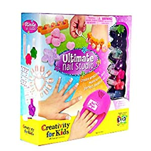 FABER CASTELL Creativity For Kids Ultimate Nail Studio Kit Create Your Own Amazing Manicures And Perfect Pedicures With This Awesome