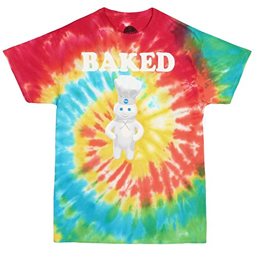 Baked-Pillsbury-Doughboy-Tie-Dye-Adult-T-shirt