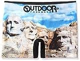 (アウトドアプロダクツ)OUTDOOR PRODUCTS ツーリストスポットシームレスボクサーパンツ/メンズ AC3011B132 90E ラシュモア山 M -