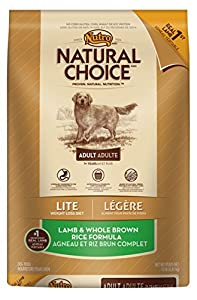 NATURAL CHOICE Adult Lite Lamb and Whole Brown Rice Formula - 15 lbs. (6.81 kg)