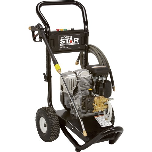 Best Deals! NorthStar Gas Cold Water Pressure Washer - 2.5 GPM, 3000 PSI, Honda Engine, Model# 15775...