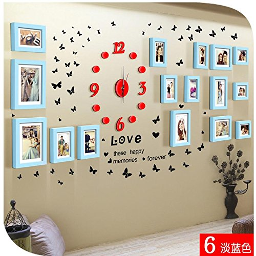 famous-wall-stickers-love-creative-personality-combination-frame-wedding-room-decoration-korean-styl