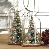 RAZ Imports - Tree in Glass Dome Ornaments