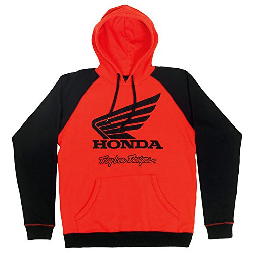 sweat-a-capuche-officiel-team-troy-lee-designs-honda-wing-homme-rouge-honda-taille-s