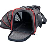 "Petsfit 18""x11""x11"" Expandable Foldable Travel Carrier Pet Carrier Soft-sided"