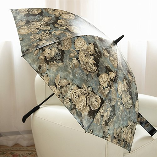 uzi-long-umbrella-female-semi-automatic-vintage-prints-of-roses-oil-painting-large-wind-resistant-um