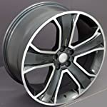 22″ Fits Land Rover – Range Rover Style Replica Wheel – Gunmetal 22×9.5