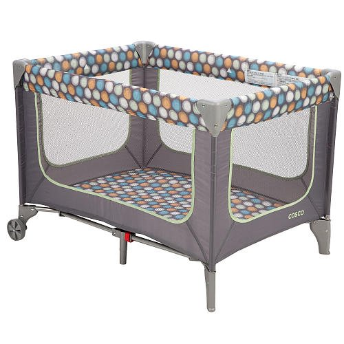 Cosco Funsport Play Yard Ikat Dots back-1051665