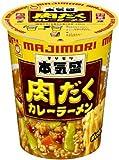 東洋 本気盛(マジモリ) 肉だくカレーラーメン X1箱(12入)