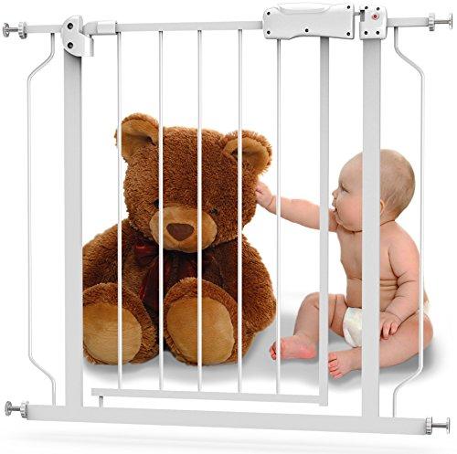 Baby Safety Gate with Walk-Thru Door - From 29