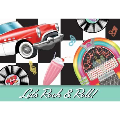 Sock Hop Invitations 8ct - 1