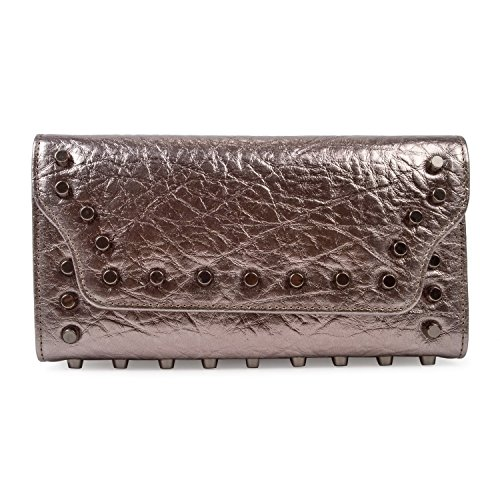 baigio-women-girl-genuine-leather-purse-evening-bag-wallet-smartphone-party-clutch-silver