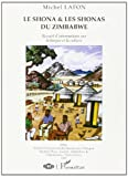 img - for shona et les shonas (le) du zimbabwe book / textbook / text book