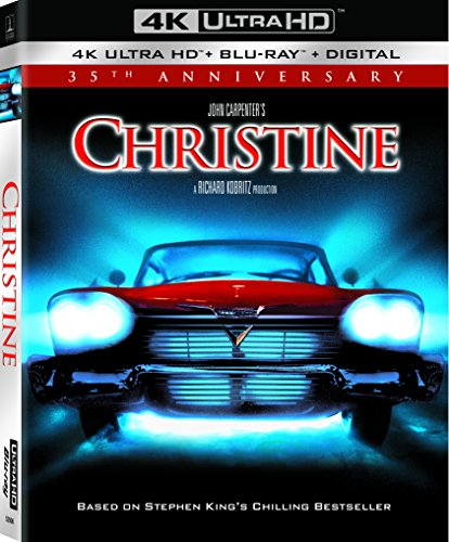 4K Blu-ray : Christine (35th Anniversary) (With Blu-ray, Anniversary Edition, 4K Mastering, Digital Copy, Subtitled)