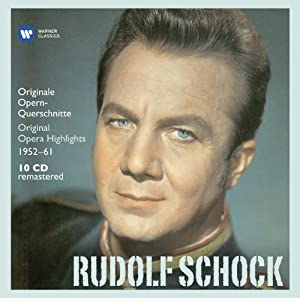 Rudolf Schock - Original Opera Highlights (Electrola Collection)