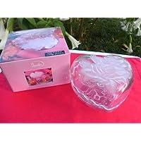 Crystal Heart Jewelry Box