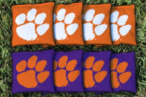 NCAA Replacement All Weather Cornhole Bag Set NCAA Team: Clemson Tigers (Ncaa Corn Hole compare prices)
