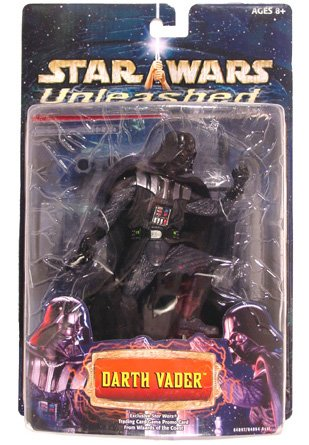 Star Wars Unleashed Darth Vader RARE Blue Card - 1st Release