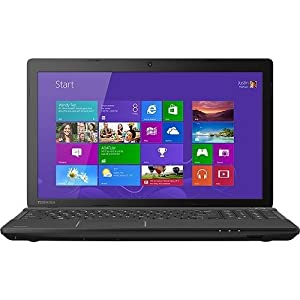 "Toshiba Satellite C55-A5308 15.6"" Laptop PC - Intel Core i3 / 4GB Memory / 750GB HD / DVD±RW/CD-RW / Built-in HD Webcam & Microphone / Windows 8 by Toshiba"