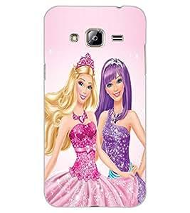 ColourCraft Princess Design Back Case Cover for SAMSUNG GALAXY J3